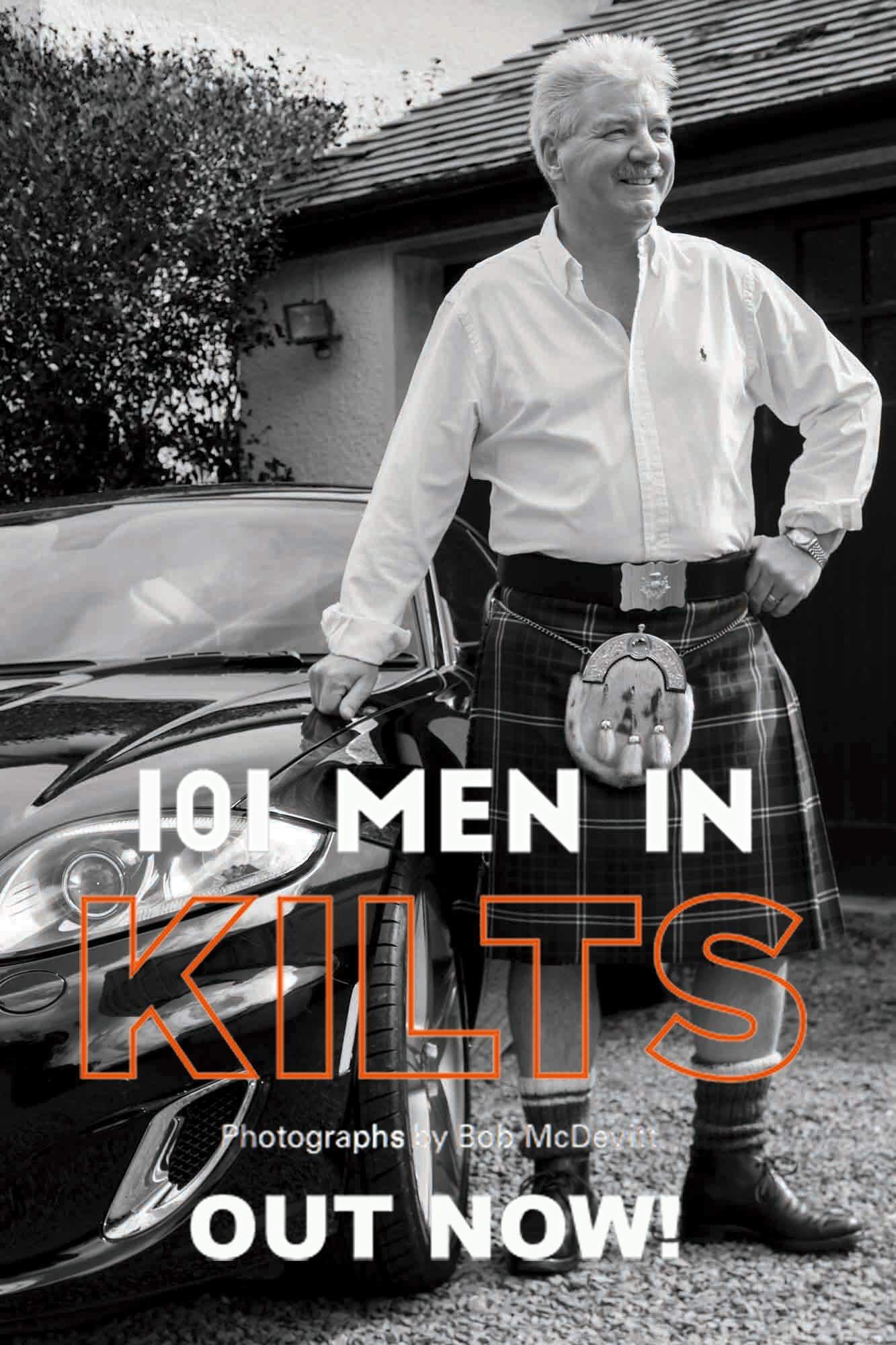 Delighted To Be Included In The 101 Men In Kilts Book By